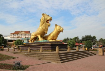 Sihanoukville - Golden Lions Traffic Circle II