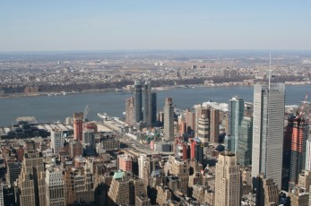 Ausblick vom Empire State Building (86th Floor) I
