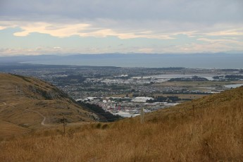 Christchurch - Aussicht von der Summit Road V