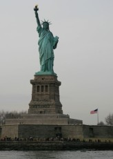 Manhattan-Bootstour: Statue of Liberty I