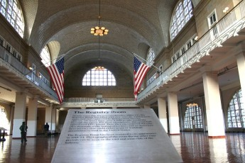Ellis Island mit Immigration Museum V