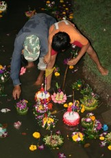 Loi Krathong - Lichterfest im November 2010