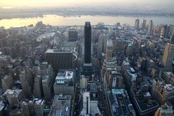 Blick vom Empire State Building XI