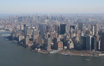 Heli-Flug in NYC: Downtown Manhattan IV