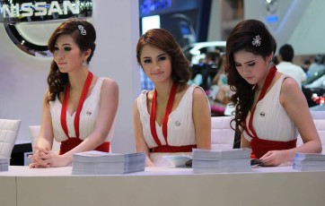 Bangkok - Thailand International Motor Expo 2011 LIII