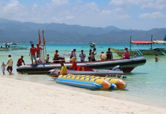 Boracay - Vom White Beach zum Diniwid Beach VI