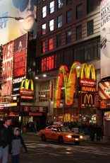 Times Square / Broadway in der Nacht I