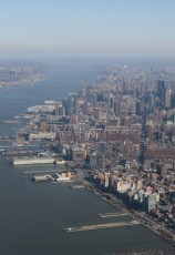 Heli-Flug in NYC: Manhattan am Hudson I