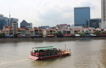 Boat Quay vor dem Central Business District (CBD) II