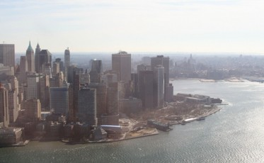 Heli-Flug in NYC: Downtown Manhattan I