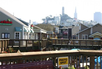 Pier 39 Restaurants und Co.