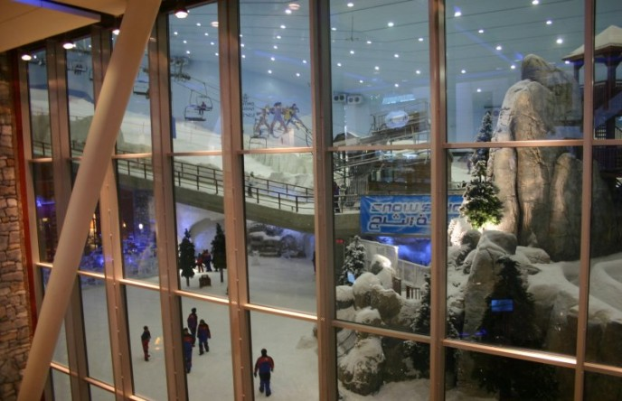 Vergrößerte Version von Ski Dubai in der Mall of the Emirates I anzeigen