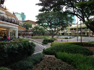 Cebu-City - Ayala Mall mit Terraces III