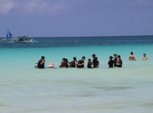 Boracay - Vom White Beach zum Diniwid Beach X