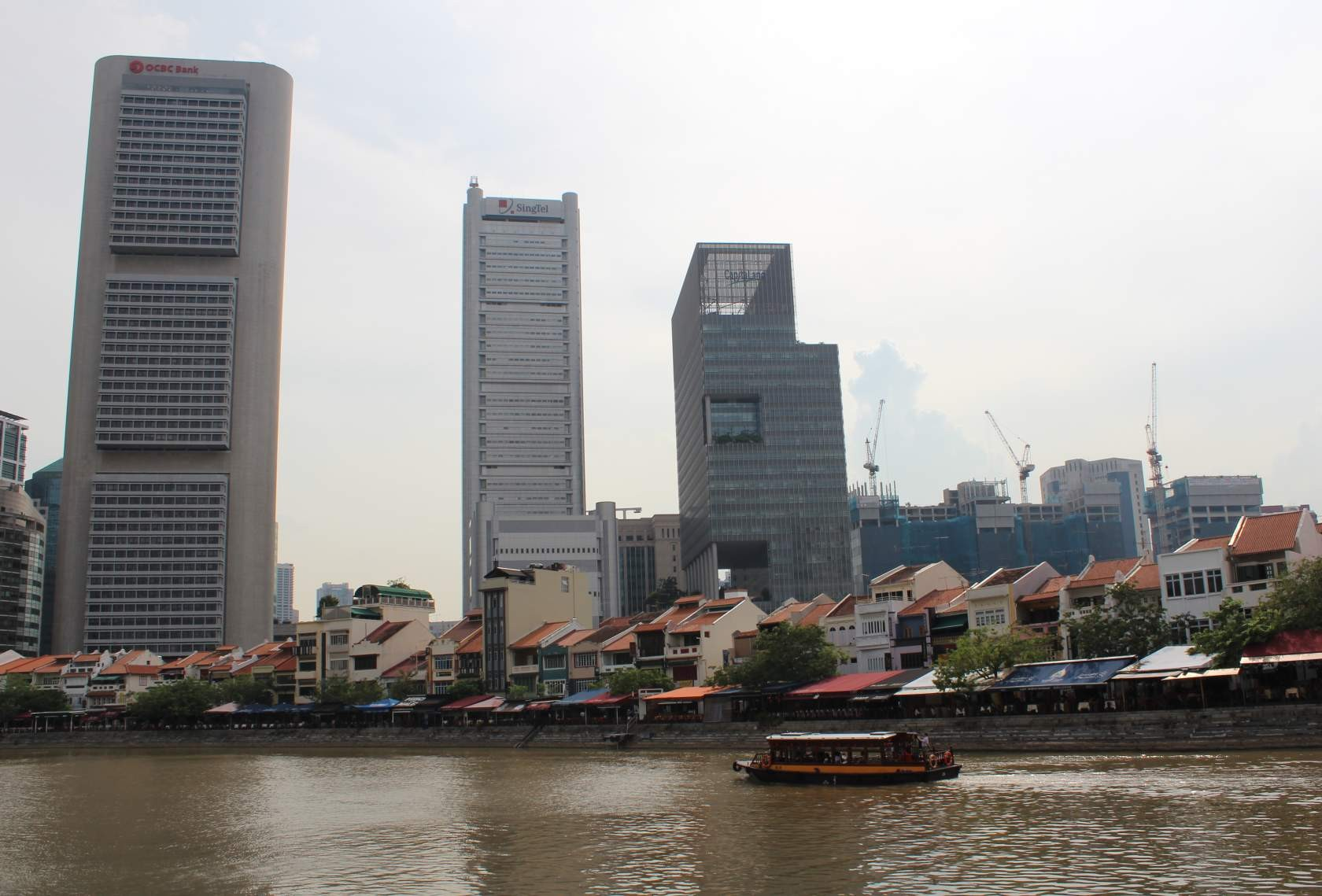 Boat Quay vor dem Central Business District (CBD) IV