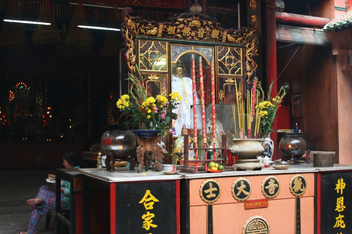 Ho Chi Minh City / Saigon: Tempel-/Pagoden-Tour in Cholon VI