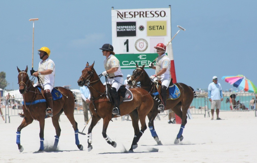 Miami Beach Polo World Cup am Strand VII
