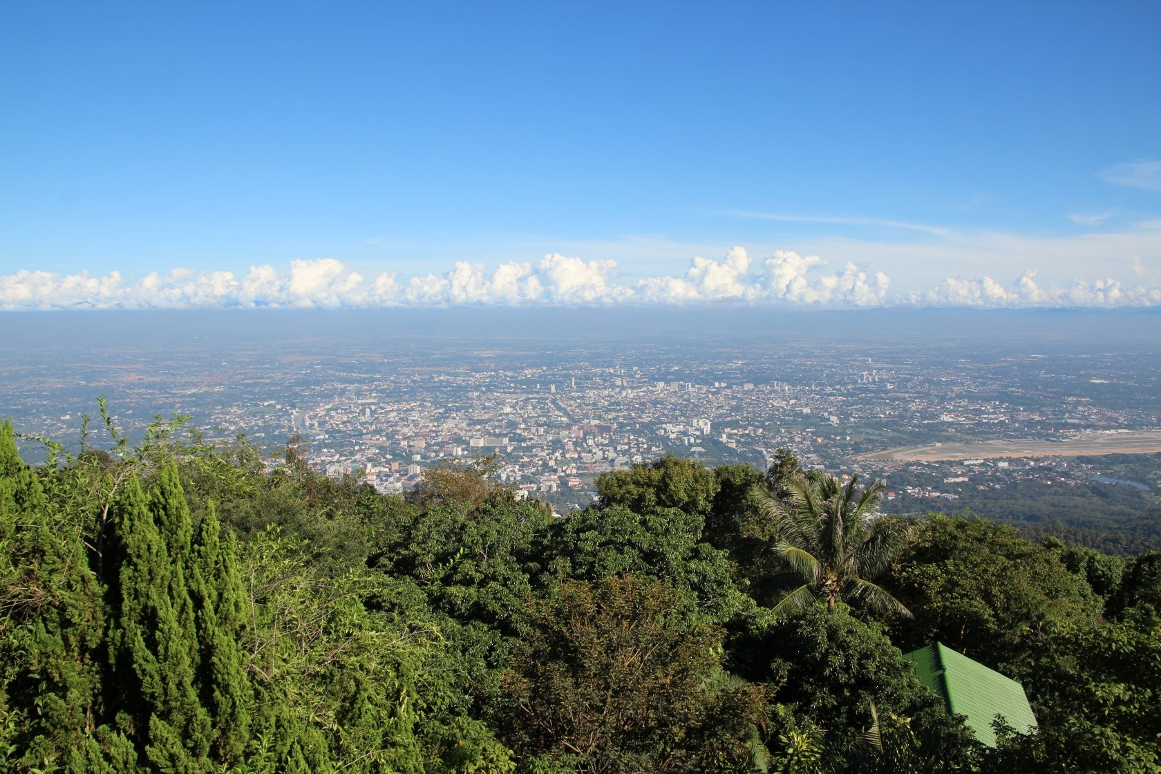 Chiang Mai - Rundgang durch die Stadt XLVIII (Blick auf Chiang Mai)