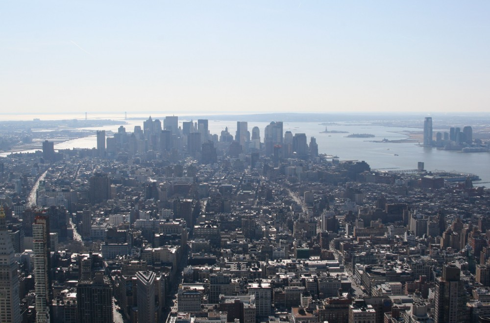 Ausblick vom Empire State Building (86th Floor) V