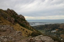Christchurch - Aussicht von der Summit Road VI