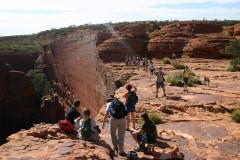 Outback-Trip: Kings Canyon Rim Walk XIII