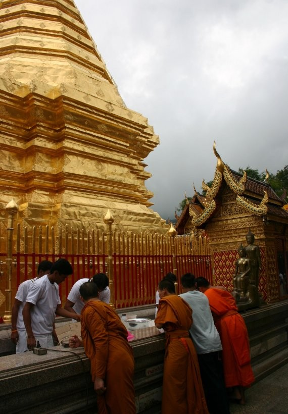 Chiang Mai - Wat Phra That auf Doi Suthep V