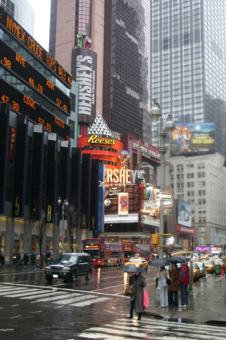 Times Square / Broadway / 42nd Street X