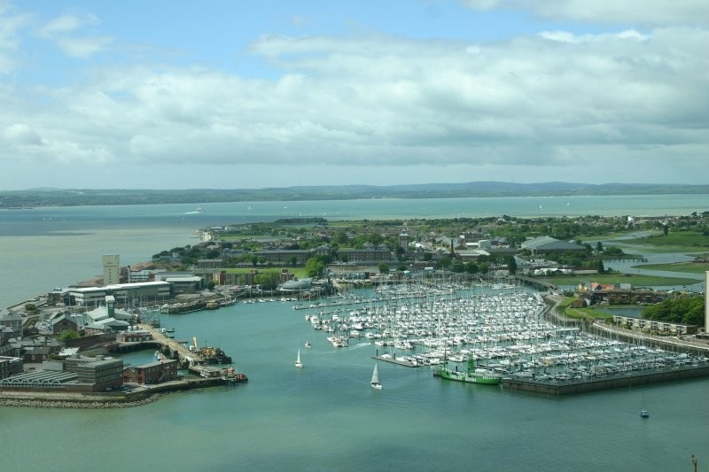 Portsmouth - Ausblick vom Spinnaker Tower II