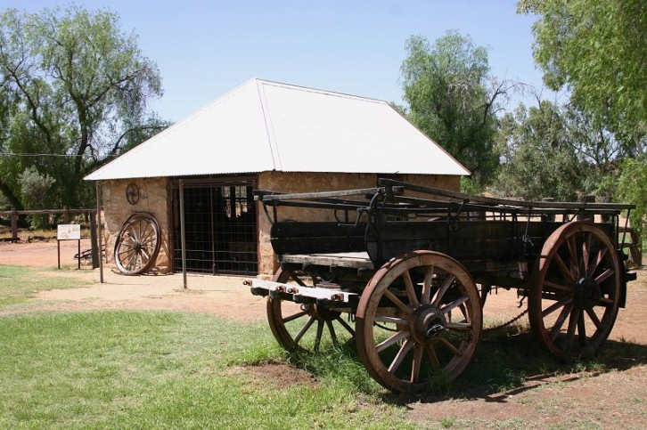Alice Springs: Telegraph Station II