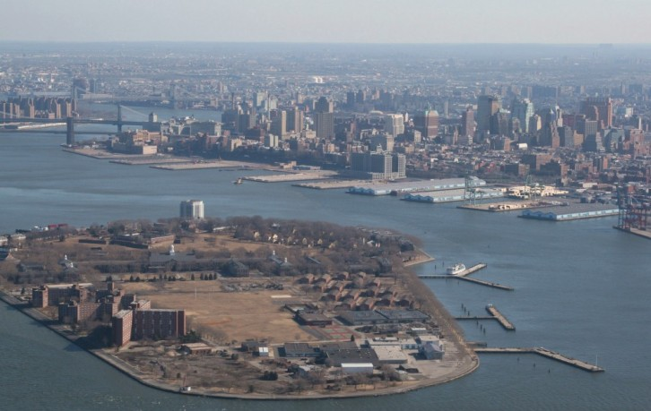Heli-Flug in NYC: Governors Island