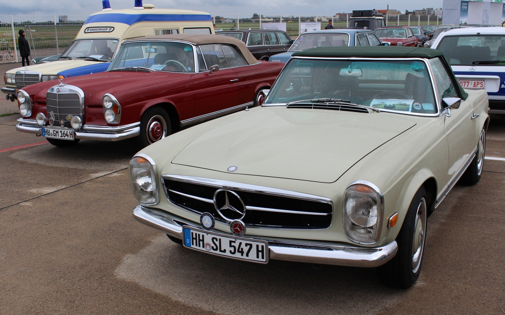 Mercedes-Benz & Friends - 125 Jahre Automobil in Tempelhof XV
