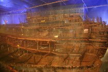 Portsmouth - Dockyard: Mary Rose Ship Hall