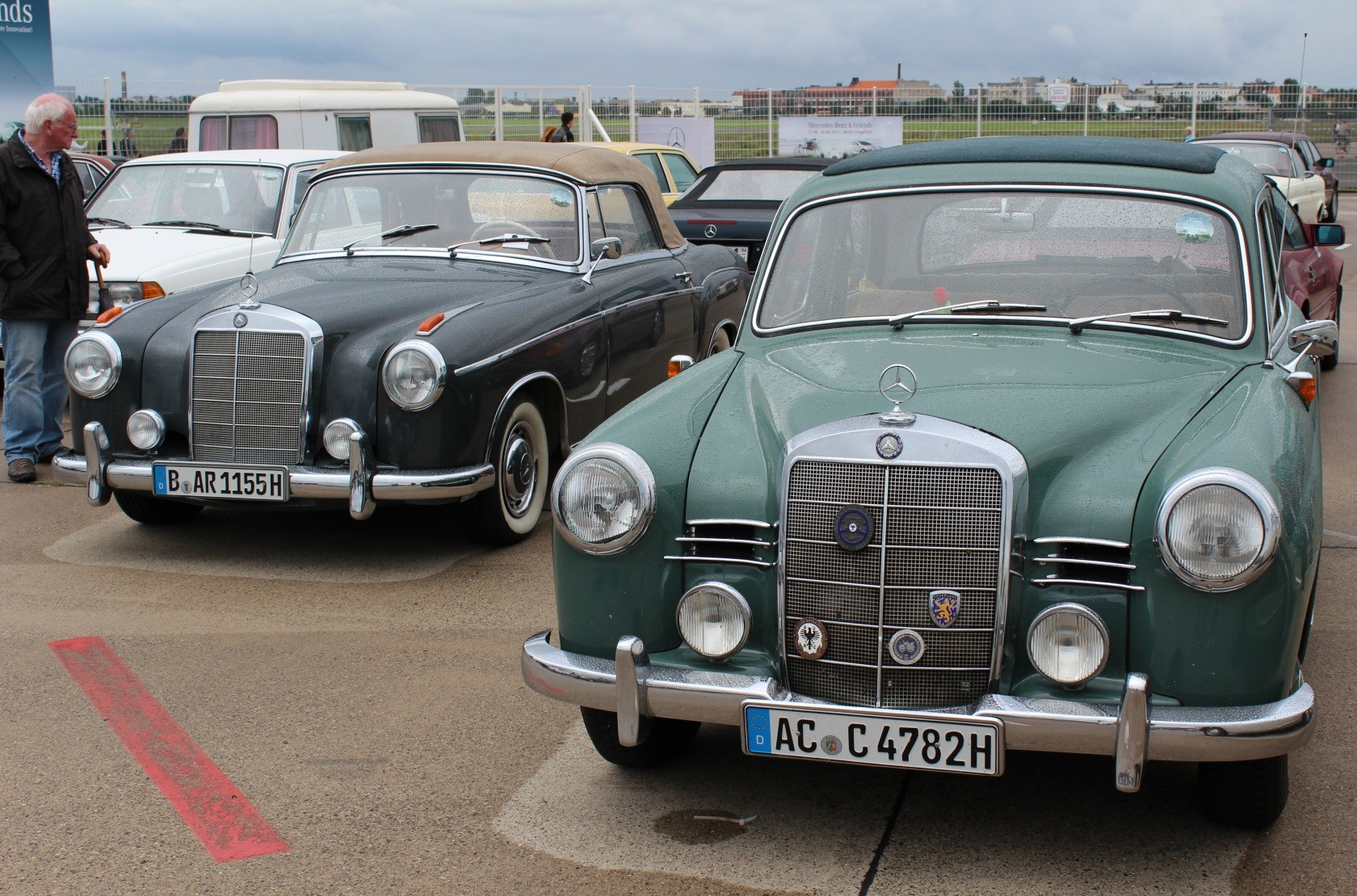Mercedes-Benz & Friends - 125 Jahre Automobil in Tempelhof V
