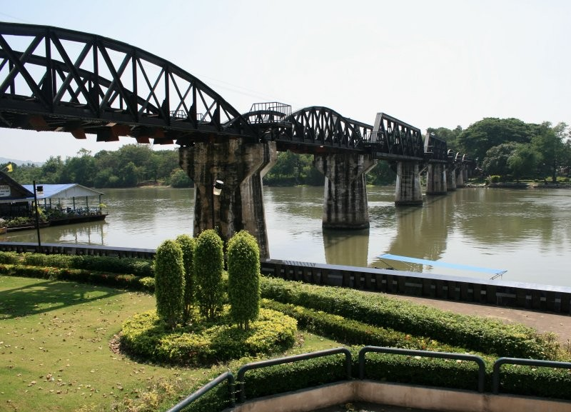 Kanchanaburi - Death Railway Bridge IV