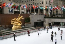 Rockefeller Center mit Ice Rink I