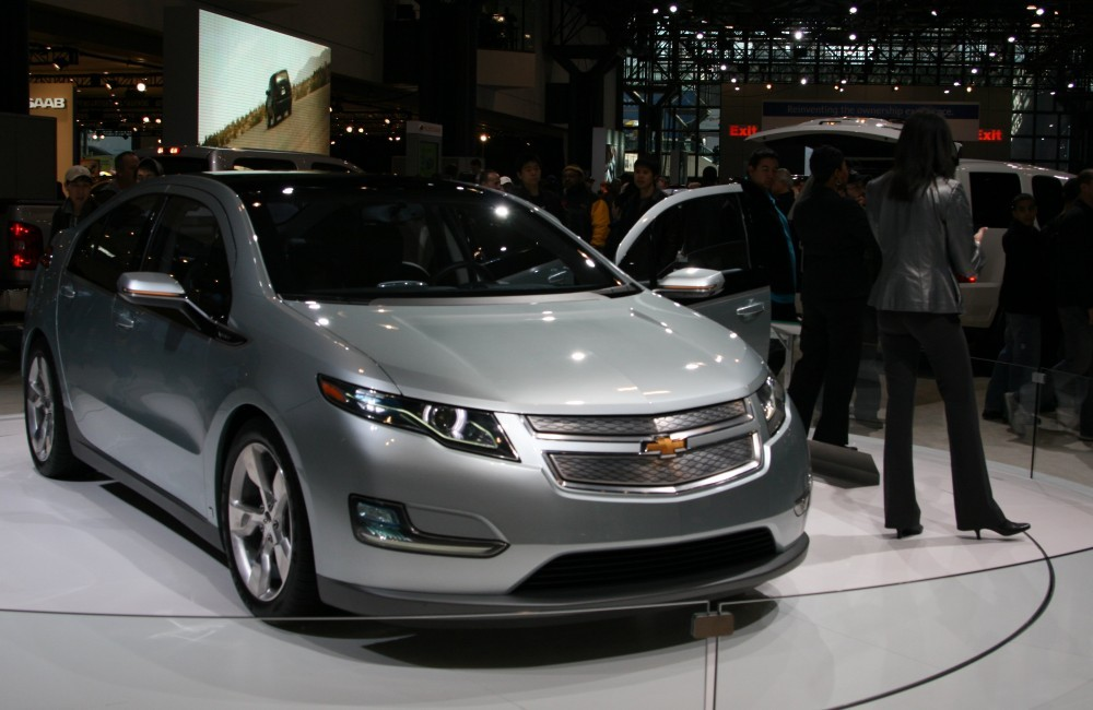 New York International Auto Show XV - GM Volt Elektroauto