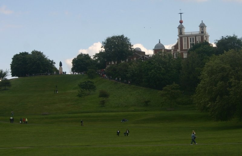 London - Royal Observatory mit Park