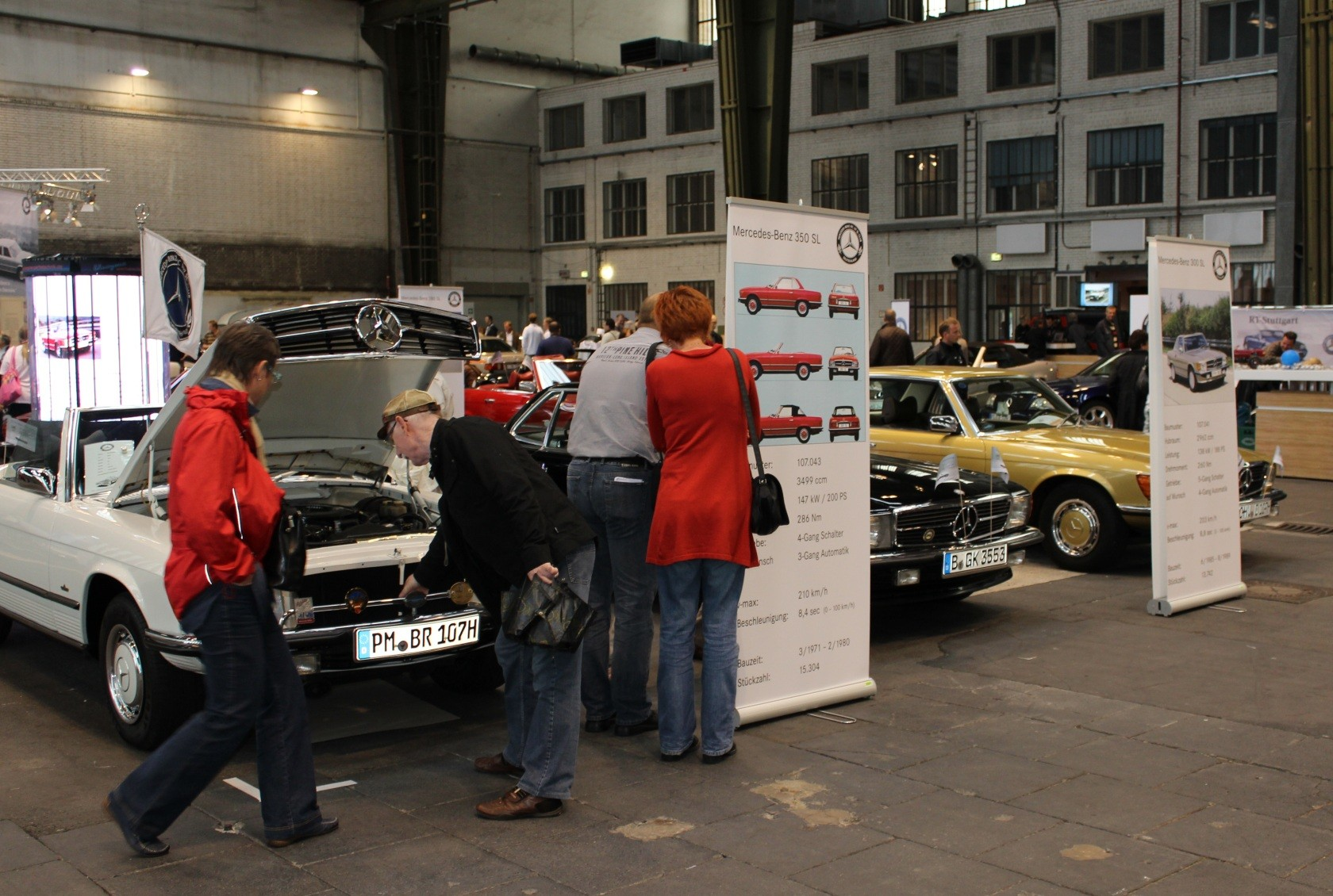 Mercedes-Benz & Friends - 125 Jahre Automobil in Tempelhof XXVIII