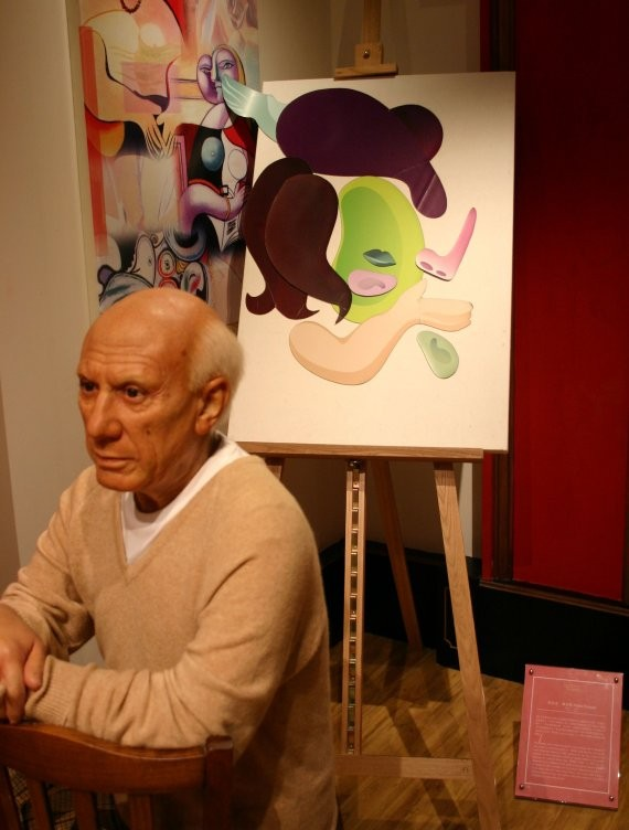 Madame Tussauds HK III (Pablo Picasso)