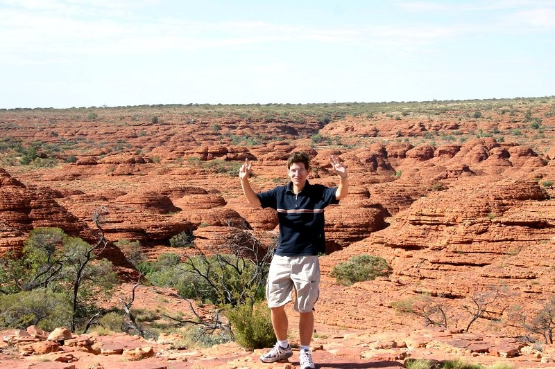 Outback-Trip: Kings Canyon Rim Walk XV