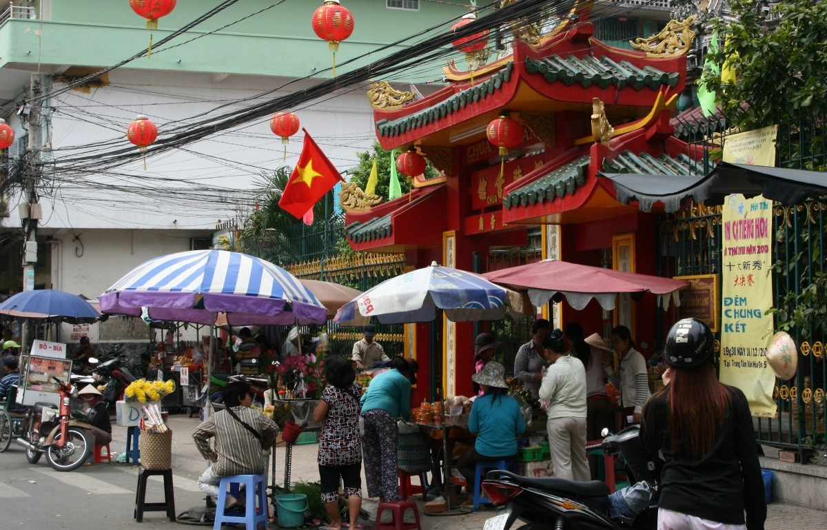 Ho Chi Minh City / Saigon: Tempel-/Pagoden-Tour in Cholon VII