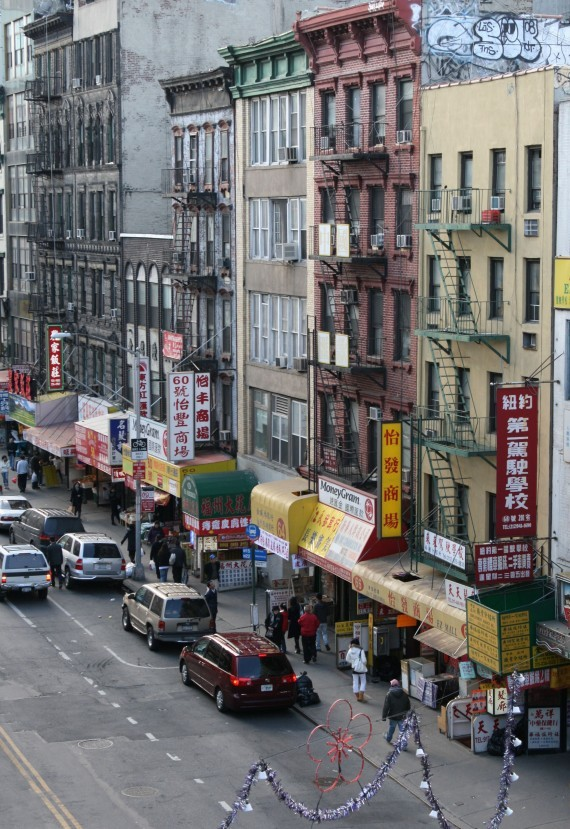 Chinatown von Manhattan Bridge aus I