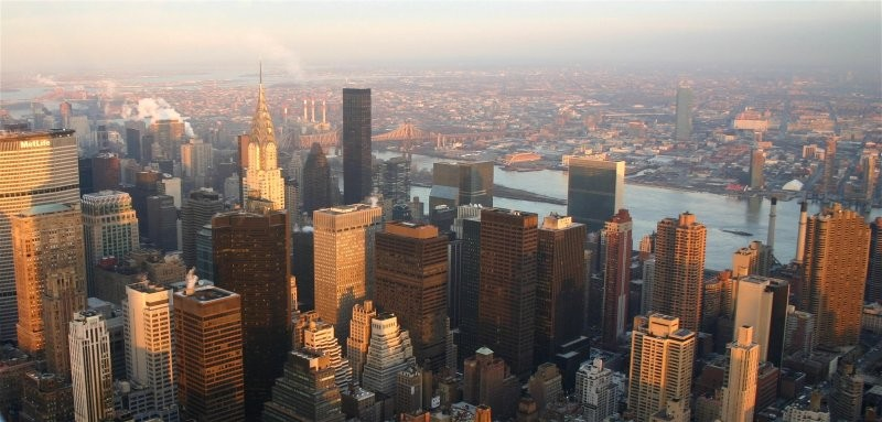 Blick vom Empire State Building II