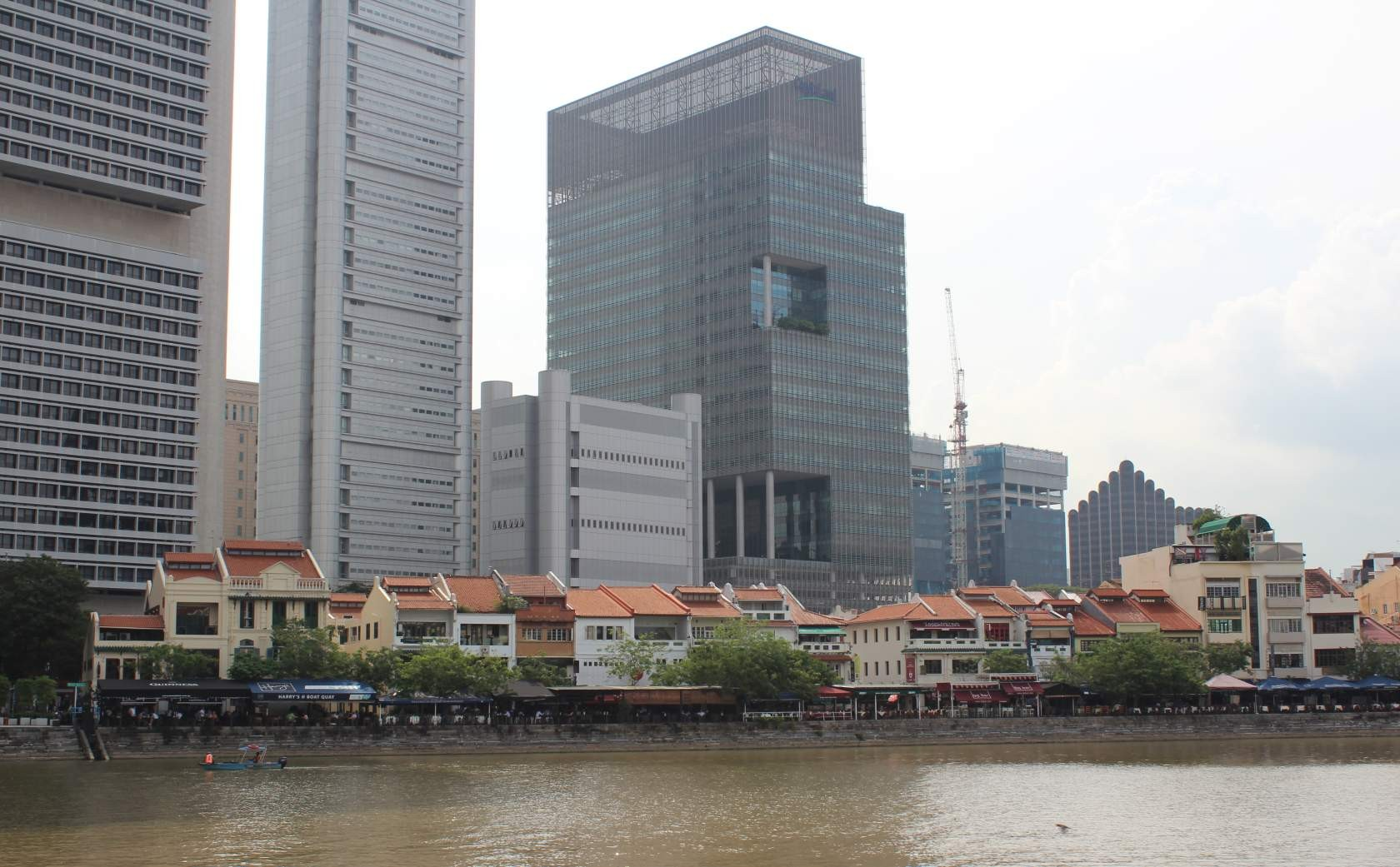 Boat Quay vor dem Central Business District (CBD) I