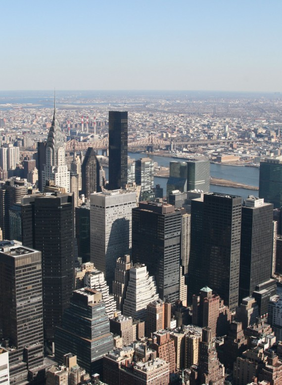 Ausblick vom Empire State Building (86th Floor) VIII