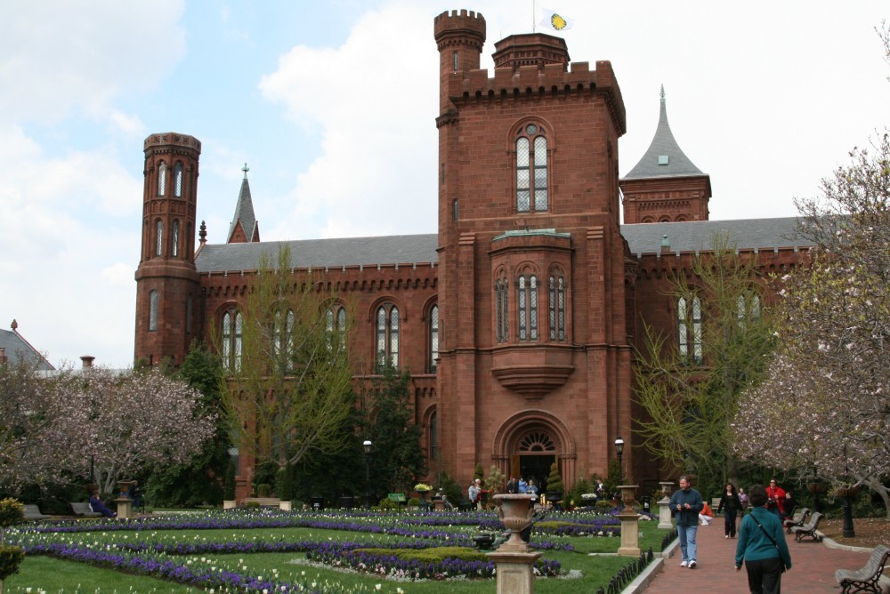 Smithsonian Institute mit Smithsonian Castle III