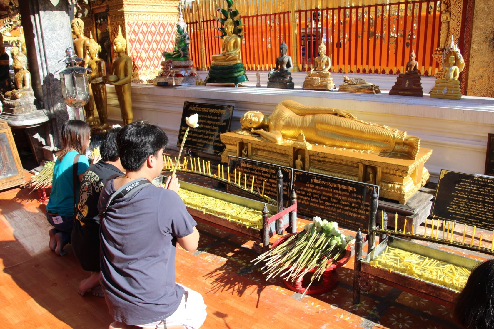 Chiang Mai - Rundgang durch die Stadt LIX (Wat Phra That Doi Suthep)