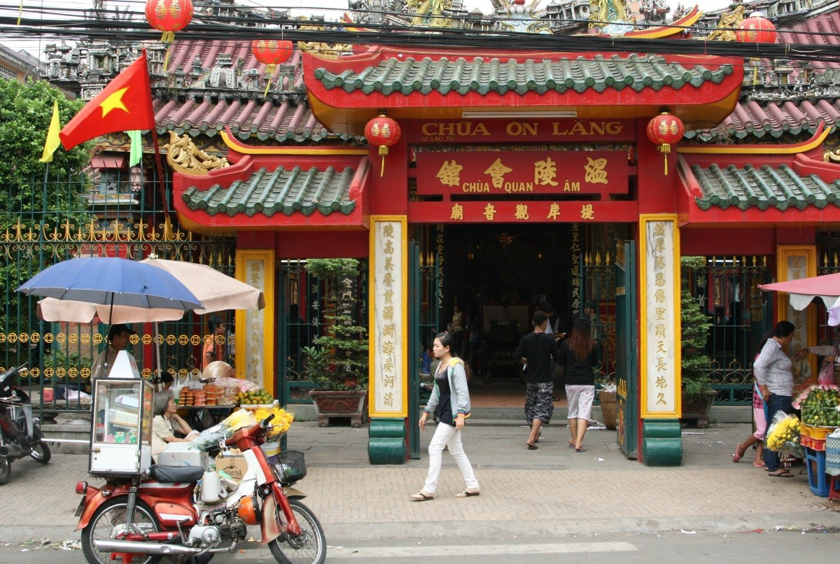 Ho Chi Minh City / Saigon: Tempel-/Pagoden-Tour in Cholon VIII