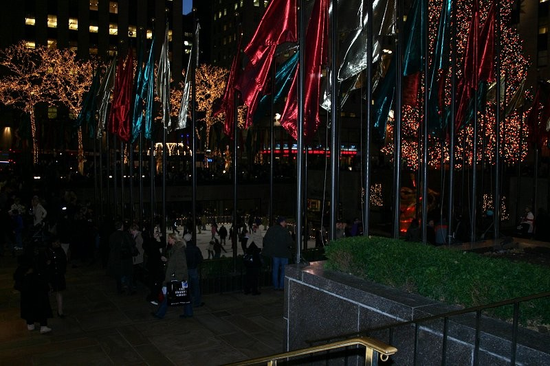 Ice Skating Ring im Rockefeller Center I