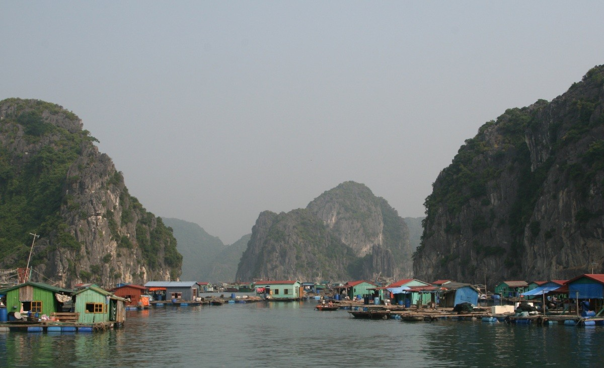 Ha Long Bay - UNESCO-Weltnaturerbe in Vietnam II